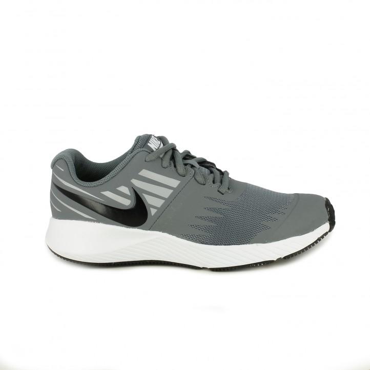 Zapatillas deporte Nike star runner de tonos grises - Querol online