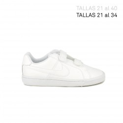 Sabatilles esport Nike court royale blanques