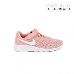 Zapatillas deporte Nike tanjun rosas coral