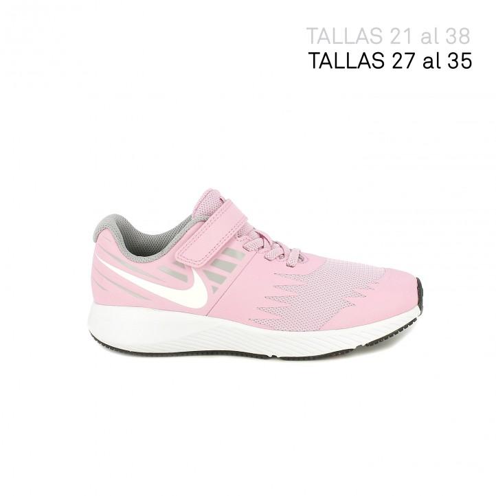 Zapatillas deporte Nike star runner rosas - Querol online