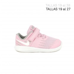 Zapatillas deporte Nike star runner rosas