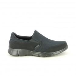 Zapatos sport Skechers negros con memory foam - Querol online