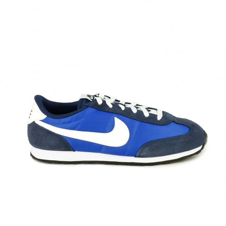 Zapatillas Nike Azules Y Deportivas Runner Mach Blancas YfgI67byv
