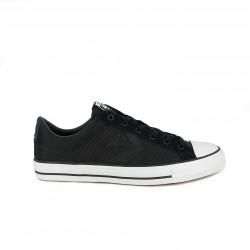 Zapatillas lona Converse star player negras bajas - Querol online