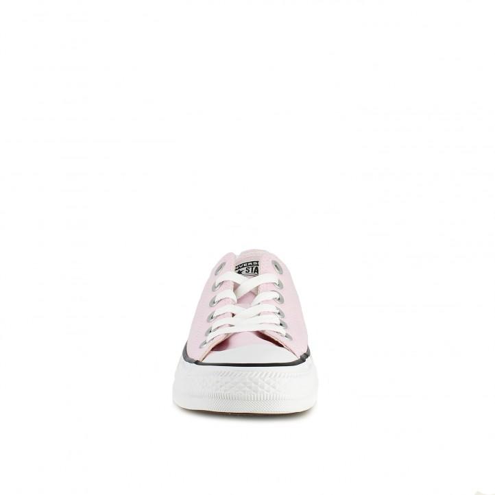 Zapatillas lona CONVERSE chuck taylor bajas rosas - Querol online