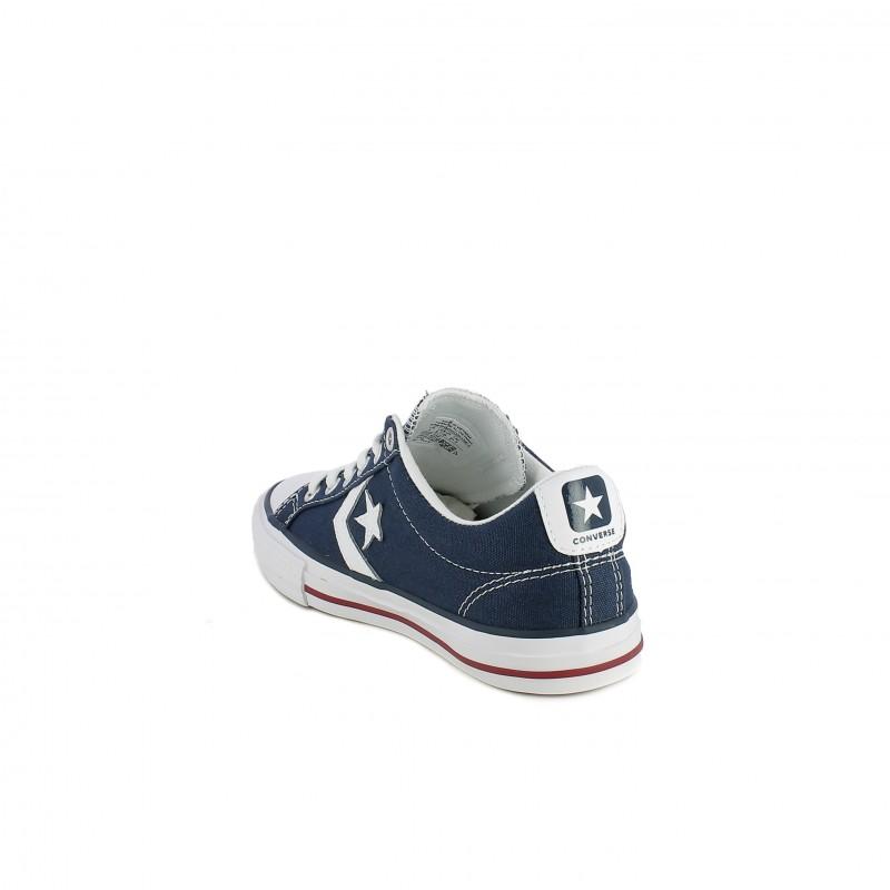 2e90f5eed91 ... Zapatillas lona Converse star player azul marino con cordones - Querol  online
