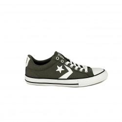 Zapatillas lona Converse star player grises con cordones - Querol online