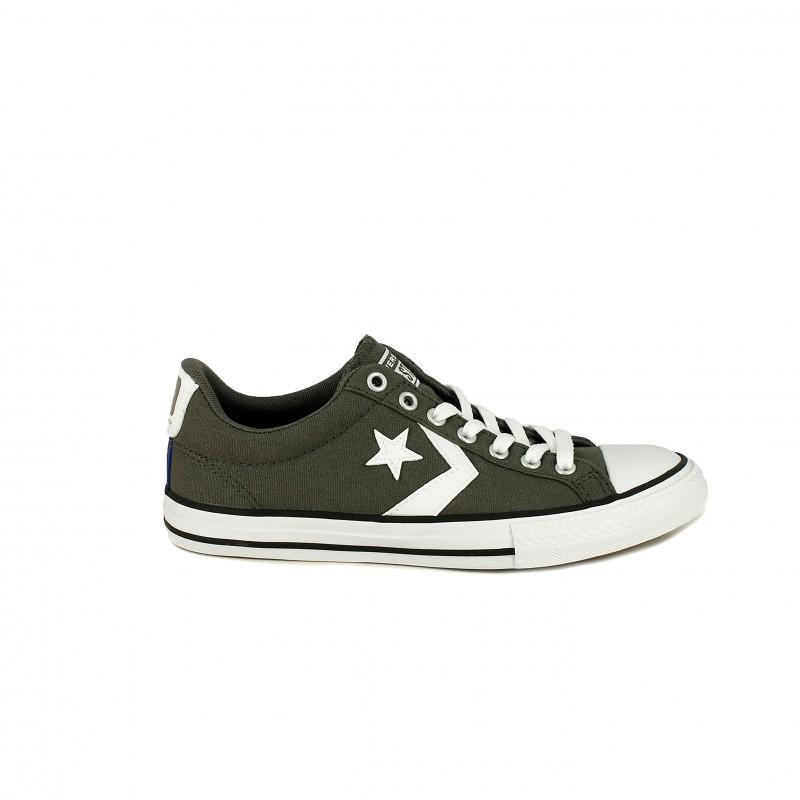 5b1728b45e9 Zapatillas lona Converse star player grises con cordones - Querol online ...