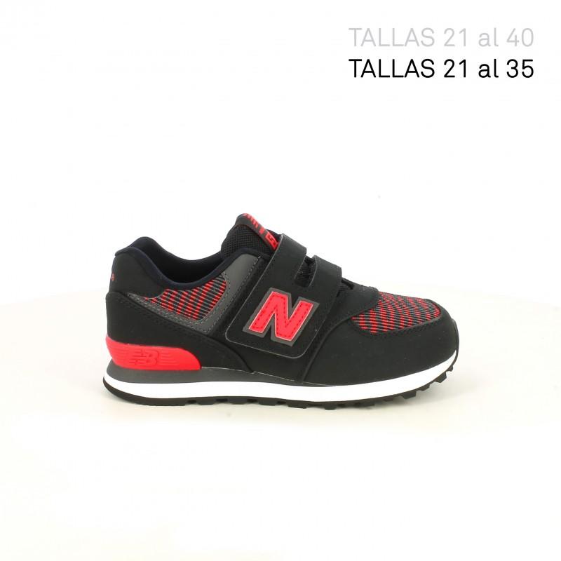 Y BalanceQuerolets Rojas Negras New Deporte 574 Zapatillas Yybf6g7