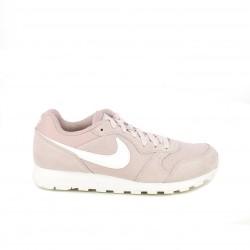 Zapatillas deportivas Nike md runner 2 rosas con cordones - Querol online