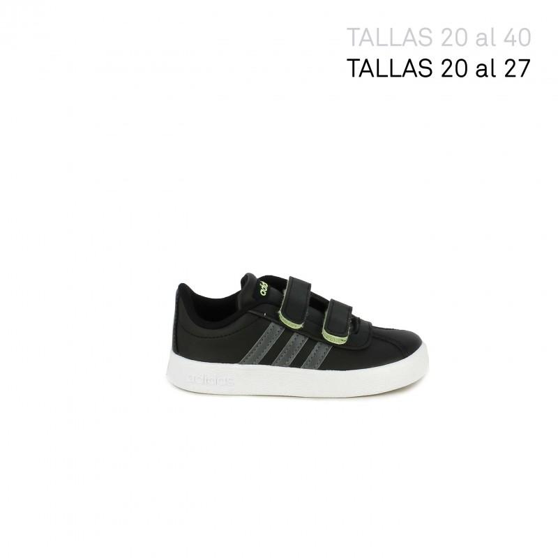 zapatillas adidas blancas y negras