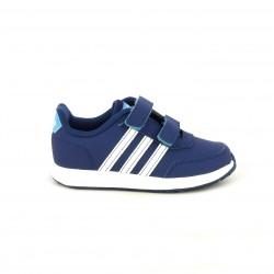 Sabatilles esport Adidas vs switch blau marí amb franges blanques