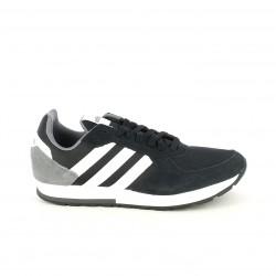 Sabatilles esportives Adidas 8k negres de cordons anb franges blanques - Querol online