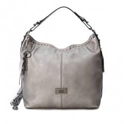 Complements Xti bossa platejat de nansa amb cremallera lateral - Querol online