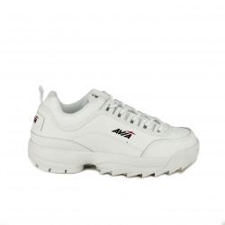 130cfc63c7a Zapatillas deportivas AVIA blancas de piel con plataforma - Querol online