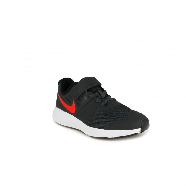 Zapatillas deporte Nike star runner negras - Querol online
