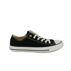 Zapatillas lona Converse all star negras bajas - Querol online