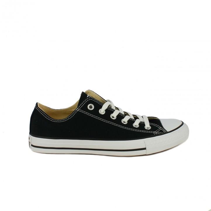 27fc2cca1 Zapatillas lona Converse all star negras bajas - Querol online ...