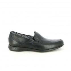 Zapatos sport Fluchos mocasines de piel negros - Querol online