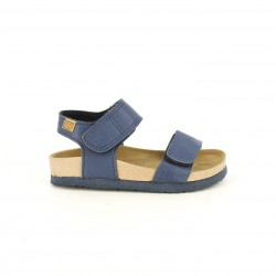 sandalias Gioseppo azules con doble velcro - Querol online