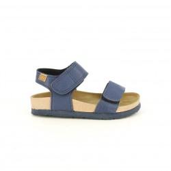 sandàlies Gioseppo blaves amb doble velcro - Querol online