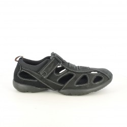 Sandalias Vicmart cerradas negras con velcro - Querol online