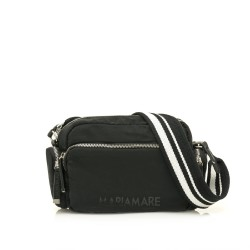 Complements Maria Mare bossa negre amb tres butxaques exteriors i tira - Querol online