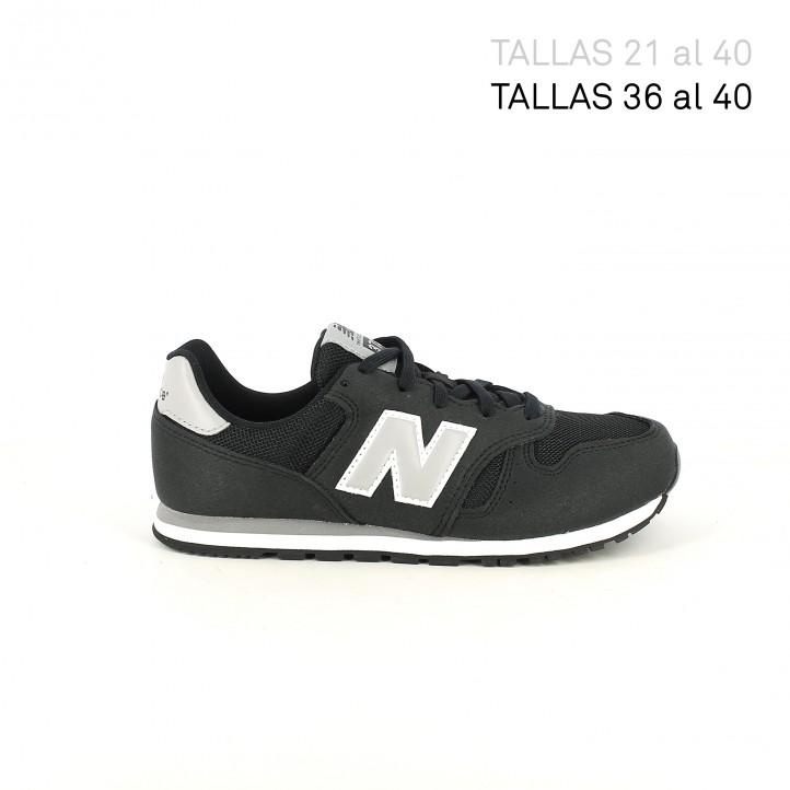 Sabatilles esport New Balance 373 negres i grises - Querol online