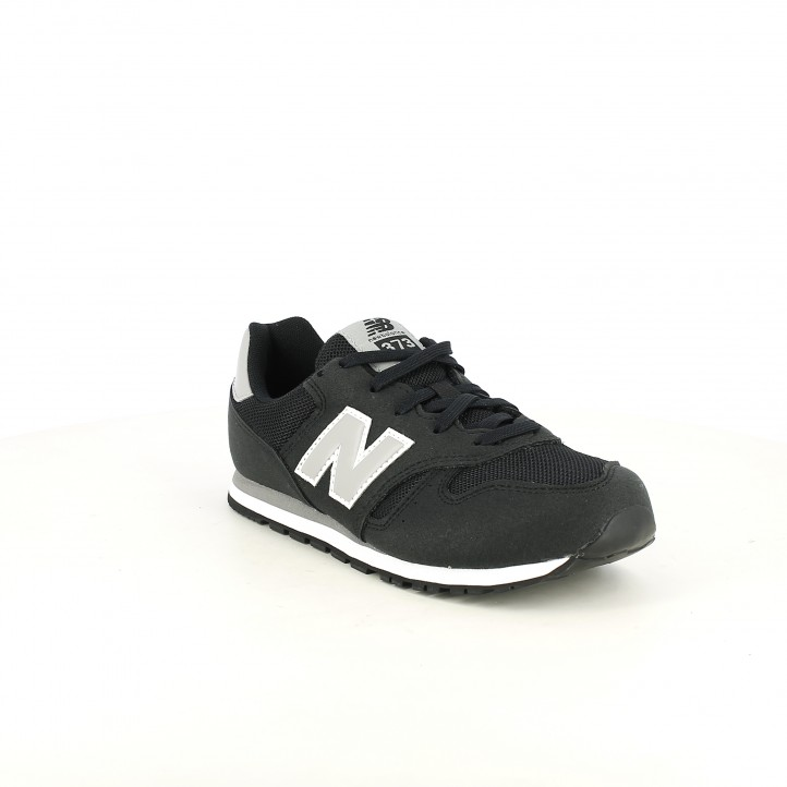 Zapatillas deporte New Balance 373 negras y grises - Querol online