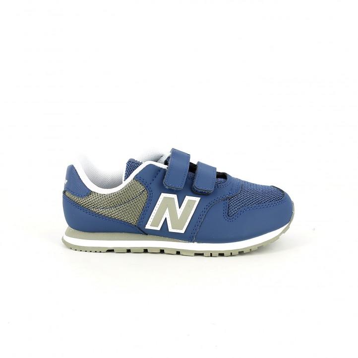 Sabatilles esport New Balance 500 blaves i verdes - Querol online