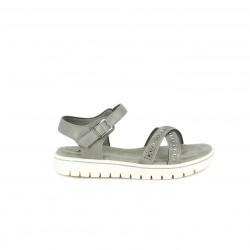 sandàlies Xti grises amb sivella, tires i brillants - Querol online
