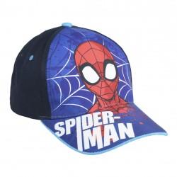 Complementos Cerda gorra spiderman azul y negra - Querol online