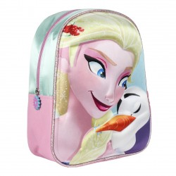 Complementos Cerda mochila rosa frozen 3D - Querol online