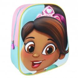 Complementos Cerda mochila rosa y verde nella 3D - Querol online