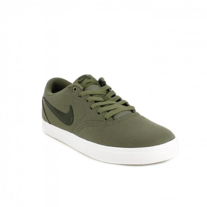 Zapatillas deportivas Nike verdes sb check solar - Querol online