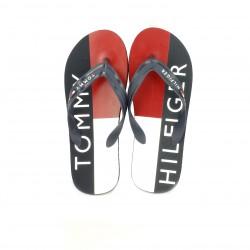 Chanclas Tommy Hilfiger azules con rojo y blanco - Querol online