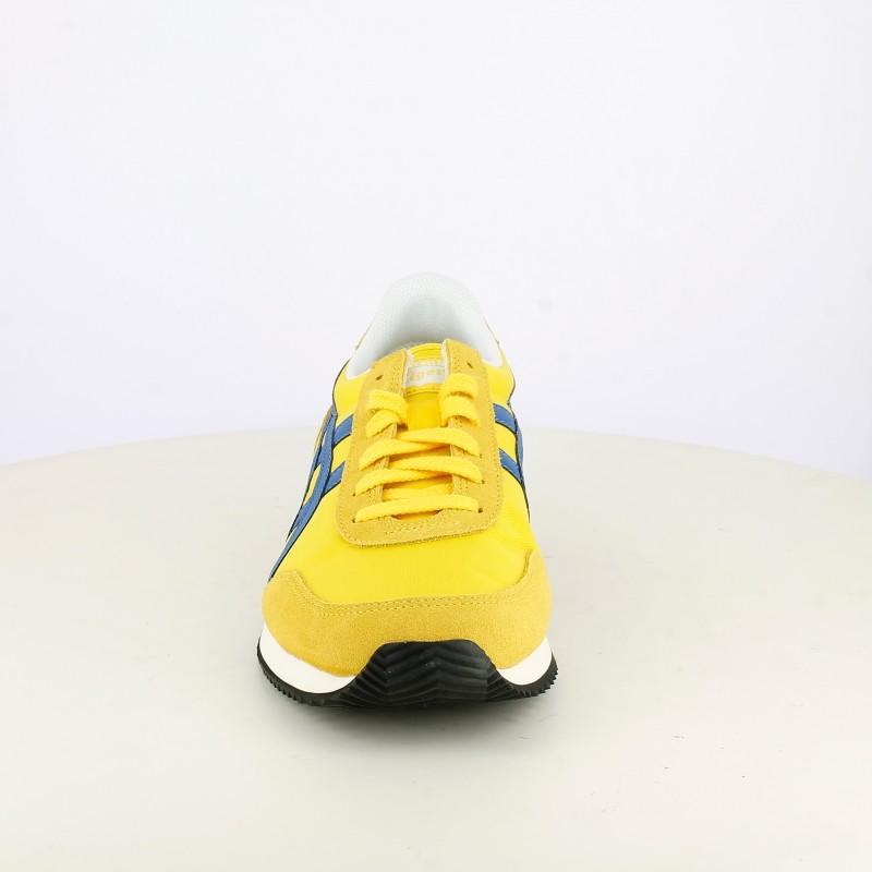 asics amarillas hombre zapatillas