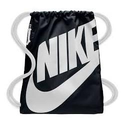 Complements Nike sac de gimnàs negre i blanc - Querol online