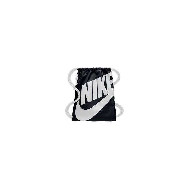 Complementos Nike saco de gimnasio negro y blanco - Querol online