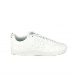 Zapatillas deportivas Adidas advantage blancas con cordones - Querol online