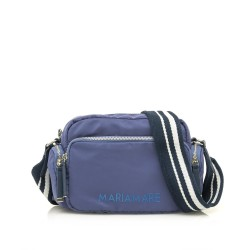Complements Maria Mare bossa blava amb tres butxaques exteriors i tira - Querol online