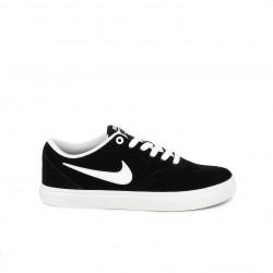 dc74921618 Zapatillas deportivas Nike sb check negras y blancas con cordones - Querol  online