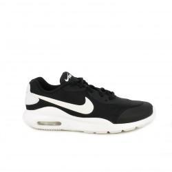 63f5bb6818 Zapatillas deportivas Nike air negras y blancas con cordones - Querol online