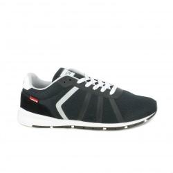 Zapatillas deportivas Levi's negras, blancas y grises - Querol online