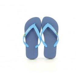 xancletes Ipanema blaves amb bandera de brazil - Querol online