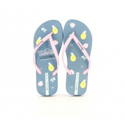 Chanclas Ipanema + mr wonderful azules y rosas - Querol online