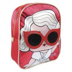 Complementos Cerda mochila roja lol surprise! con muñeca - Querol online