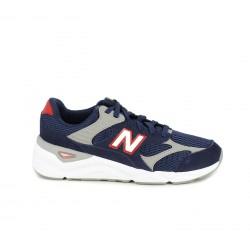 Zapatillas deportivas New Balance x90 azules, grises y blancas - Querol online
