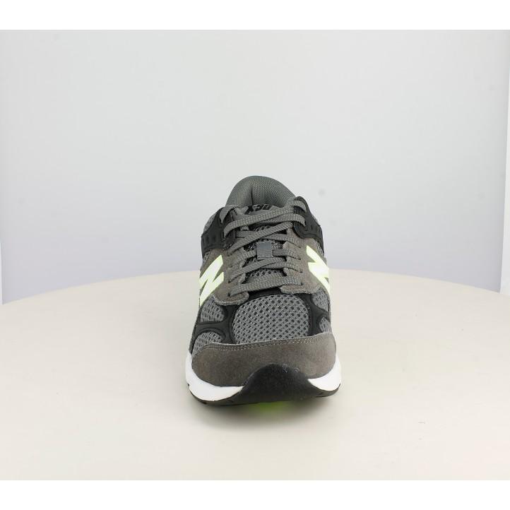 Sabatilles esportives New Balance x90 grises i negres - Querol online