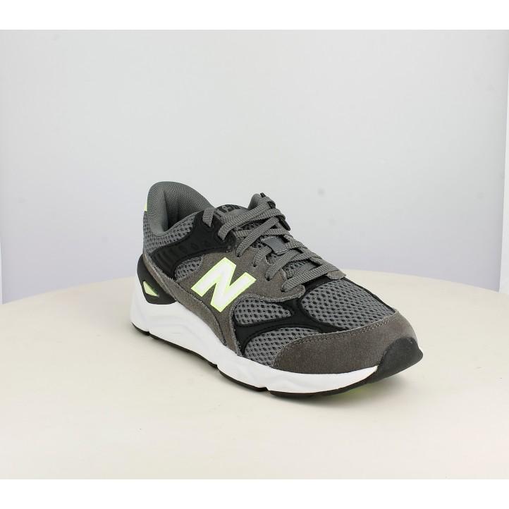 Zapatillas deportivas New Balance x90 grises y negras - Querol online